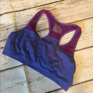 Cat & Jack Purple Girls Sports Bra XL